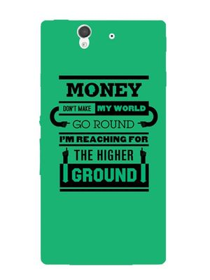 Money world mobile cover