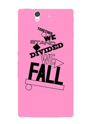 Together fall mobile cover