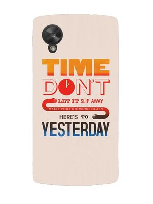 Time slip mobile cover
