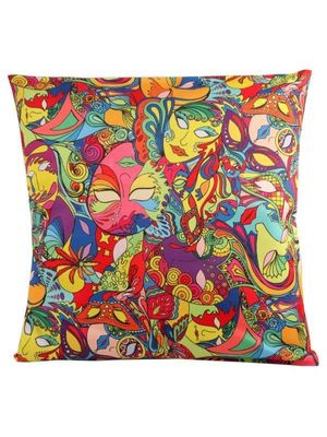Mardi Gras cushion cover