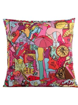 Umbrella cushion cover