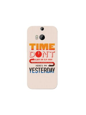 Time don't mobile cover