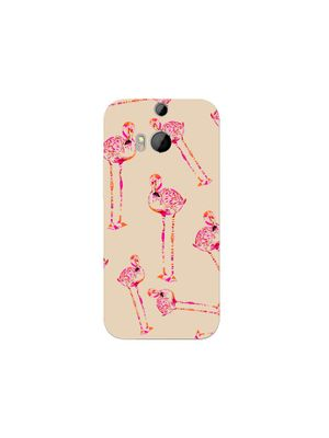 Pink birdie mobile cover