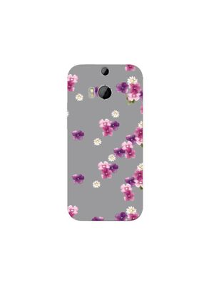 Vintage floral HTC mobile cover