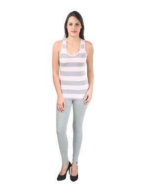Daily Legging- Grey Melange