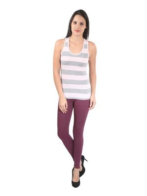 Street Legging- Beet Red