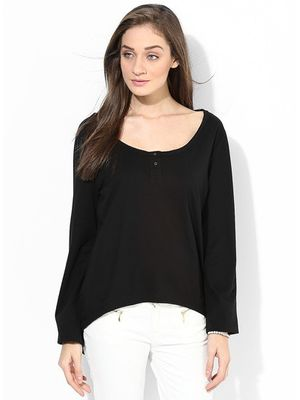 W  HENLEY - Black