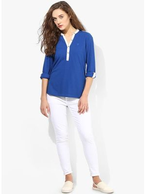 LNG  PLKT. TOP - Cobalt Blue