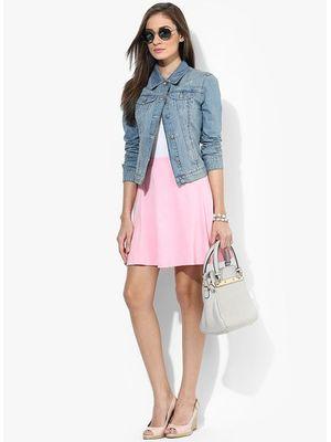 Basic Skirt  - Crystal Rose
