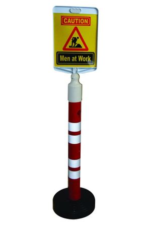 Bollard with Message Plate