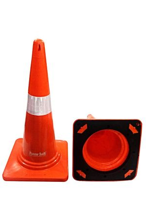 Safety Cone heavy base Moulded