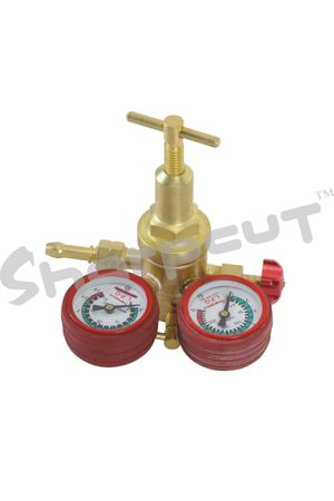 LPG Single Stage Pressure Regulator with  Double Meter