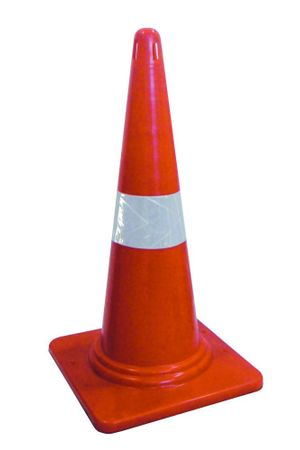 Safety Cones Without Rubber Base