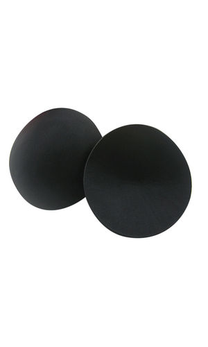 Glus No Show Through Bra Insert Cups For Everyday Wear, Color- Black