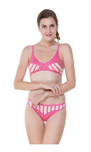 af46408a1ba1e Glus Summer Star Everyday Bra   Bikini Panty Set