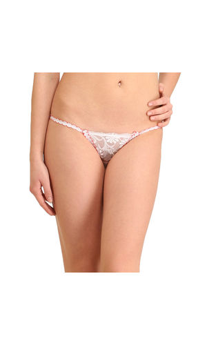 Glus Red  Snow Flowers  G-String