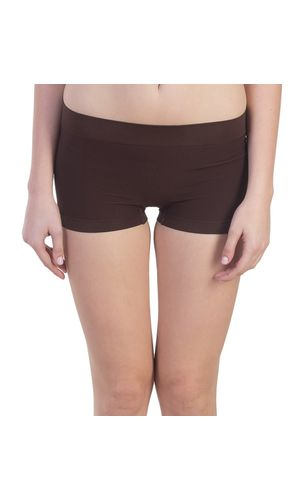 New Look Micro BoyShorts in Modal Fabric, Color- Brown
