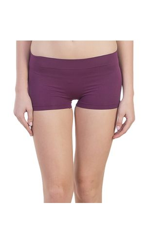 New Look Micro BoyShorts in Modal Fabric, Color- Purple