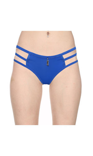 3 Stripes Soild Thong -Pure Comfort , Color- Blue