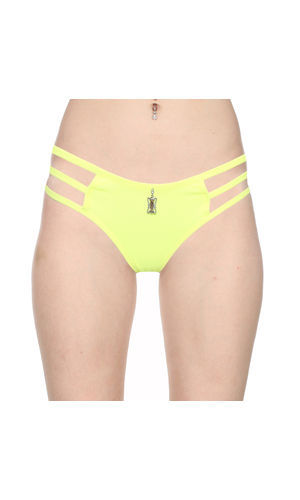 3 Stripes Soild Thong -Pure Comfort , Color- Green