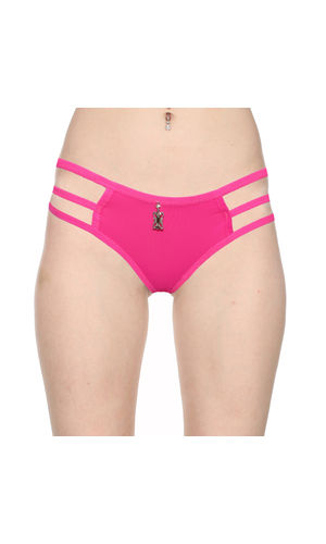 3 Stripes Soild Thong -Pure Comfort , Color- Magentta