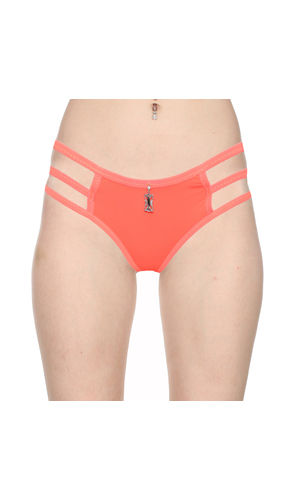 3 Stripes Soild Thong -Pure Comfort , Color- Orange