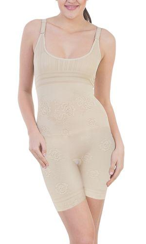 Glus Body Bracer - Ladies Super Slimmer Shapewear, Color- Nude