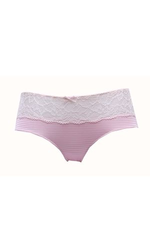 Mariemeili  High waist Lacy Pink Hipster