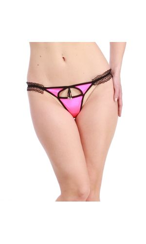 Magentta Sleek Front Cut G-String