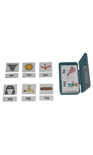 Word-Picture Matching: Vowel Cards