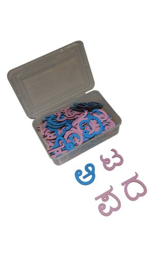 Kannada Alphabet Cut-outs