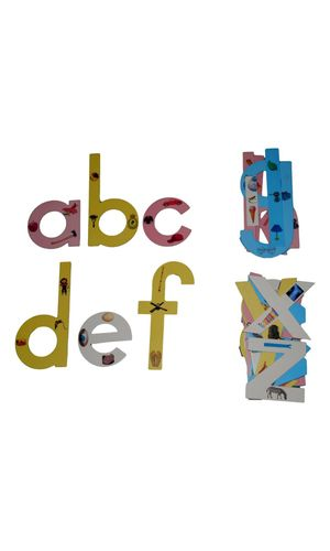 English Print Letters Classroom Cut outs