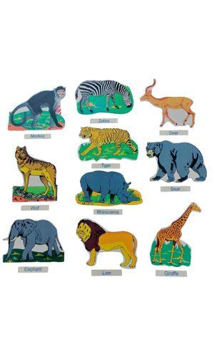 Wild Animals Cut Outs Jumbo