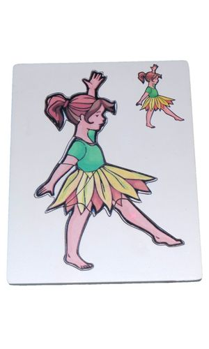 Puzzle: Dancing Girl