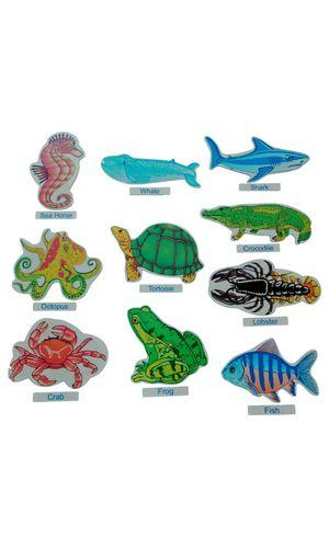 Aqua Animals Cut Outs Jumbo