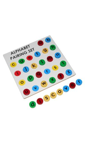 Alphabet Pairing Set: Small to Small