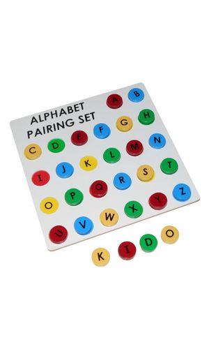 Alphabet Pairing Set: Capital to Capital