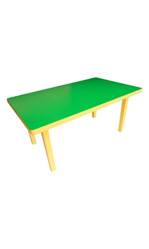 Rectangular Activity table for four: Ages 3-6