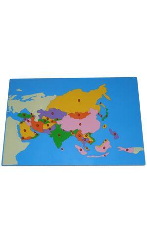 LC Map puzzle: Asia