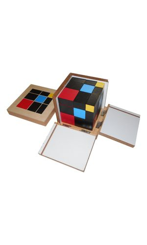 LC Trinomial Cubes