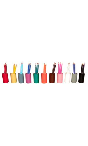 Coloured Pencil Holders (set of 11)