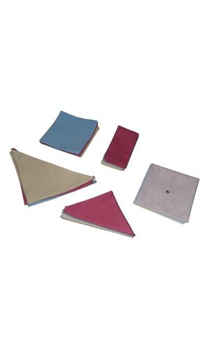 Napkins for folding (12) and Dusters (3)