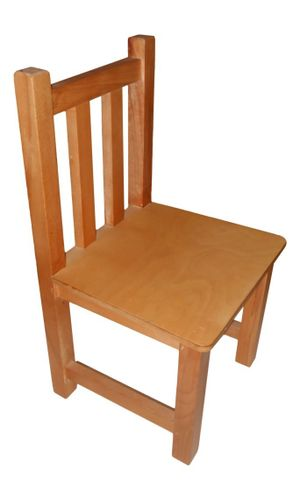 Small Chair Polished Without Arms