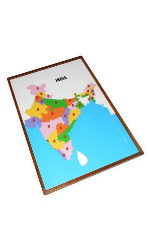 Map Puzzle: India