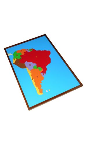 Map Puzzle: South America
