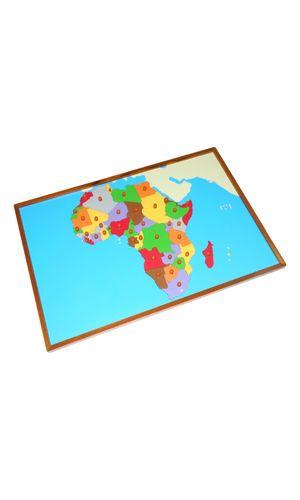 Map puzzle: Africa
