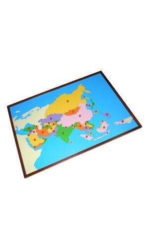 Map puzzle: Asia