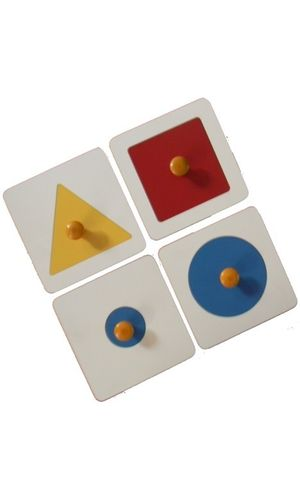 Single Shape Puzzle Set: Set of 4