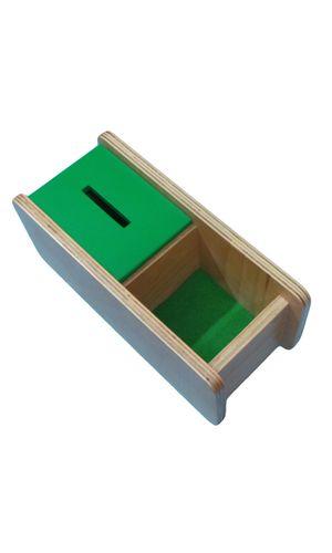 Imbucare box with flip lid - single slot