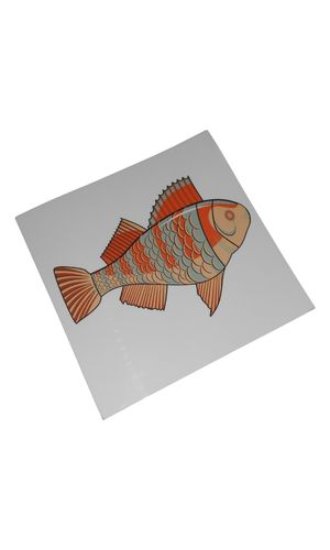 Control Card - Fish Puzzle